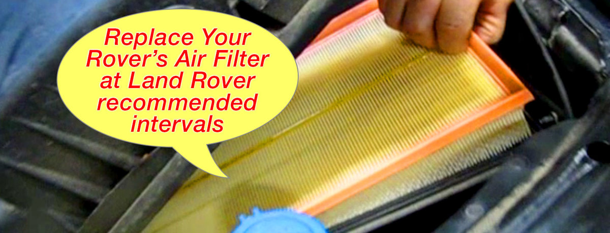 Air Filters for Your Rover