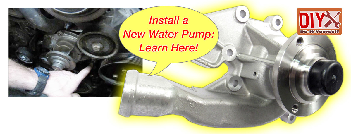 Water Pumps - Watch, Learn, and Replace!
