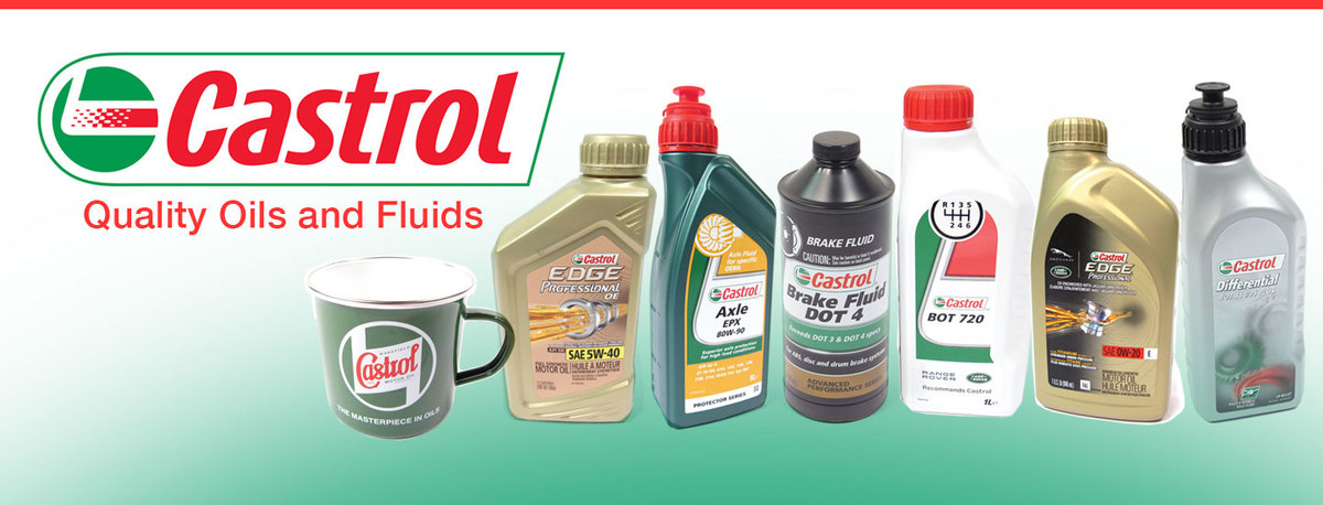 Castrol In-Stock For Your Rover!