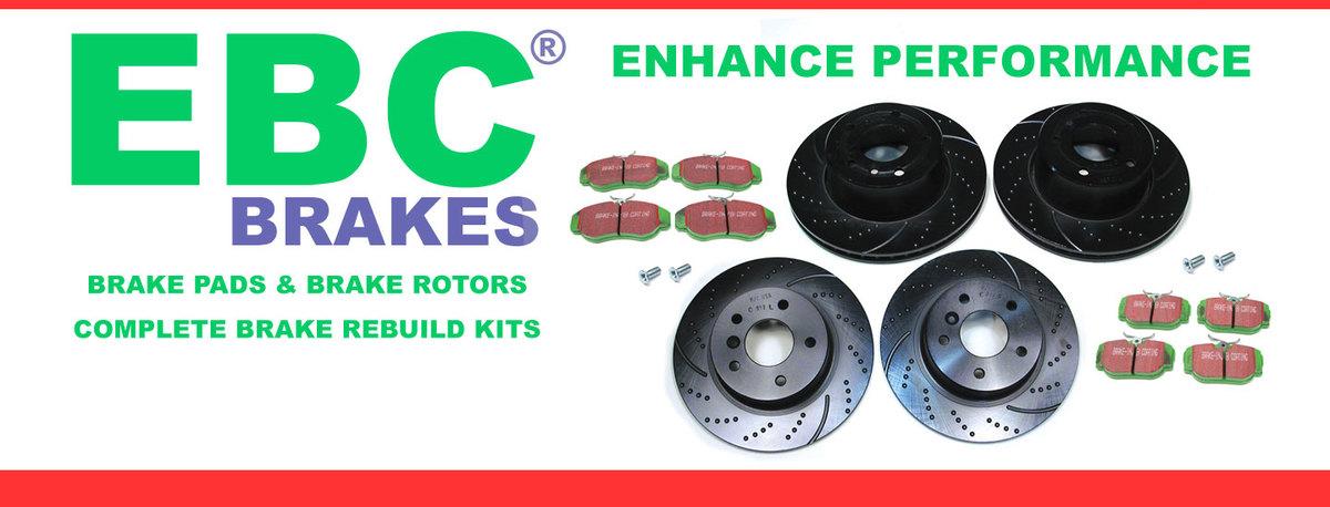 Brake Kits, Pads and Rotors from EBC Brakes