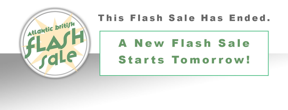 This Flash Sale Has Ended - A New Flash Sale Starts Tomorrow!