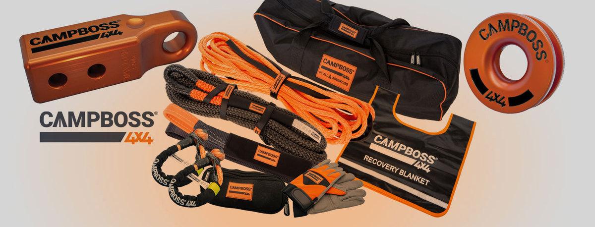 CampBoss 4x4 Recovery Gear In Stock!
