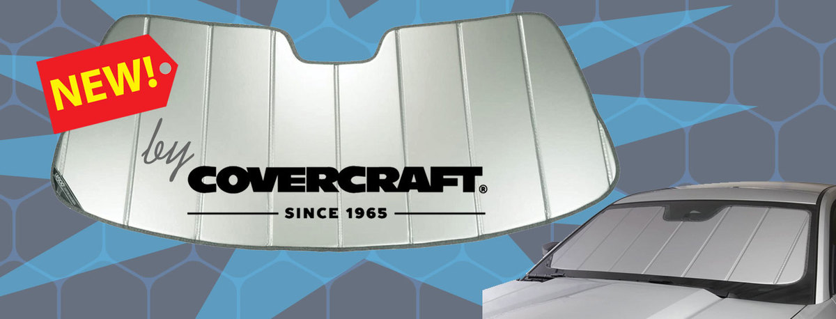 NEW! Covercraft Sunshades - Custom fit for your Rover windshield