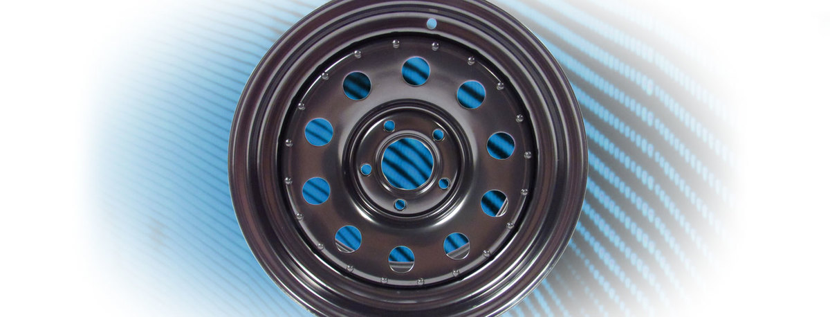 Steel Wheels for Rover