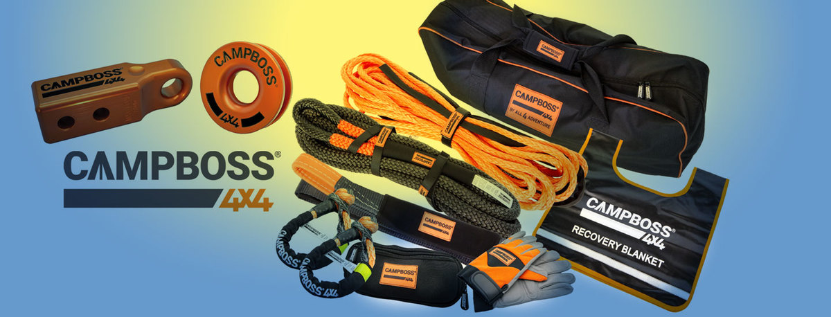 Recovery Gear by CampBoss 4x4 In Stock