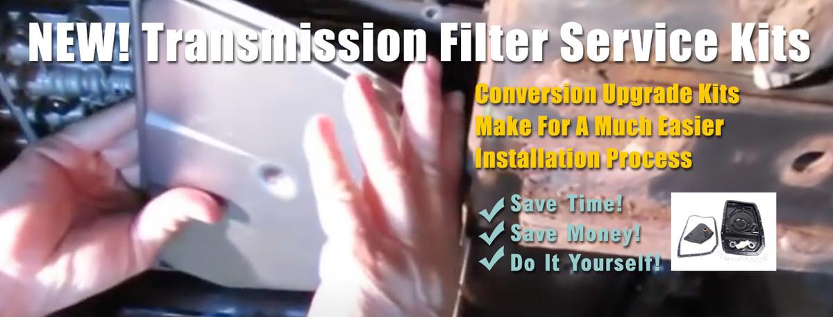 Transmission Filter & Pan Conversion Kits - In Stock