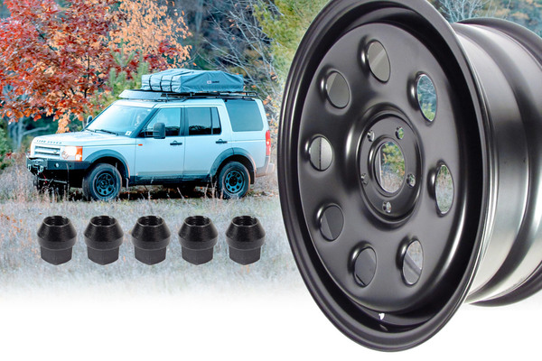 Steel Wheels for Rovers In Stock