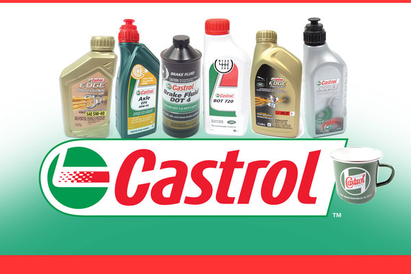 Quality Oils & Fluids from Castrol
