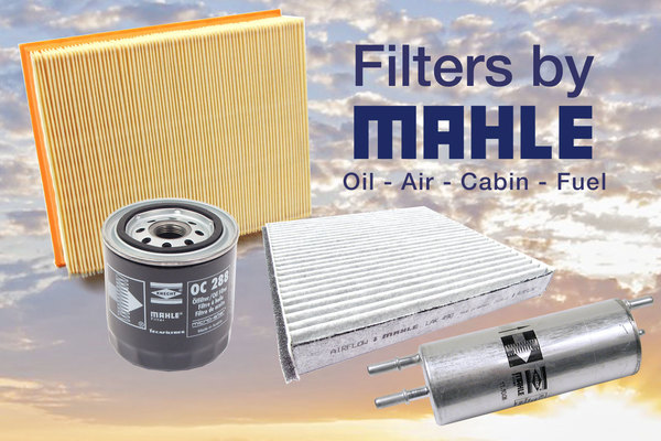 Filters by MAHLE - OE-Spec Quality from Germany