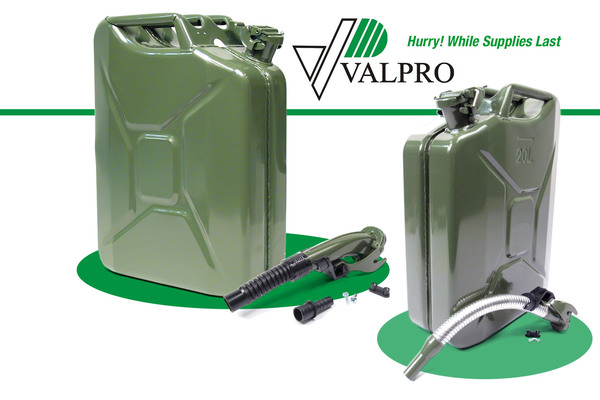 Metal Jerry Cans In Stock Classic NATO Designs