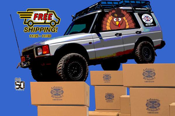 FSR56 - Thanksgiving FREE Shipping Promo