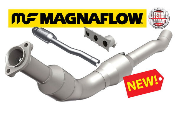 NEW! Magnaflow Catalytic Converters - Boost Your Rover's Horsepower