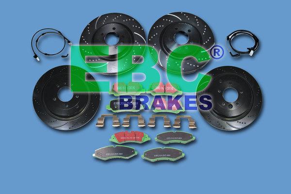 EBC Brake Kits - 10% Off Complete Brake Kits, Pads or Rotors