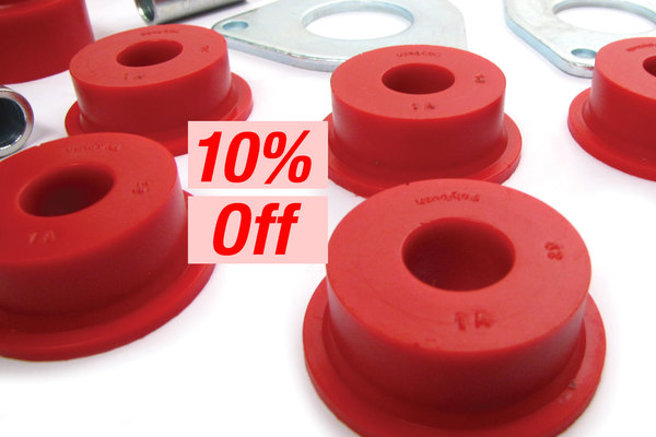 Polybush Kits For Your Rover 10% OFF!