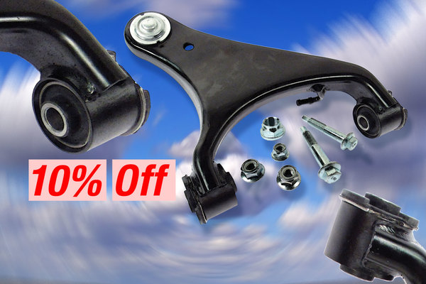Control Arms and Kits with Standard Bushings - 10% OFF Through 4/26